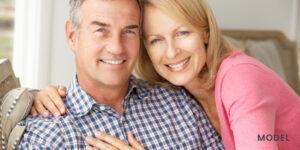 Older Couple with Nice Straight Full Set of Teeth